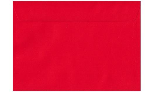 Kaskad Rosella Red C5 envelope