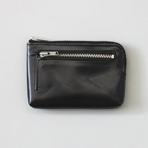 CBB Genuine Leather Pouch: Black