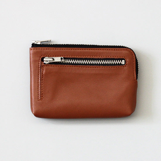 CBB Genuine Leather Pouch: Brown