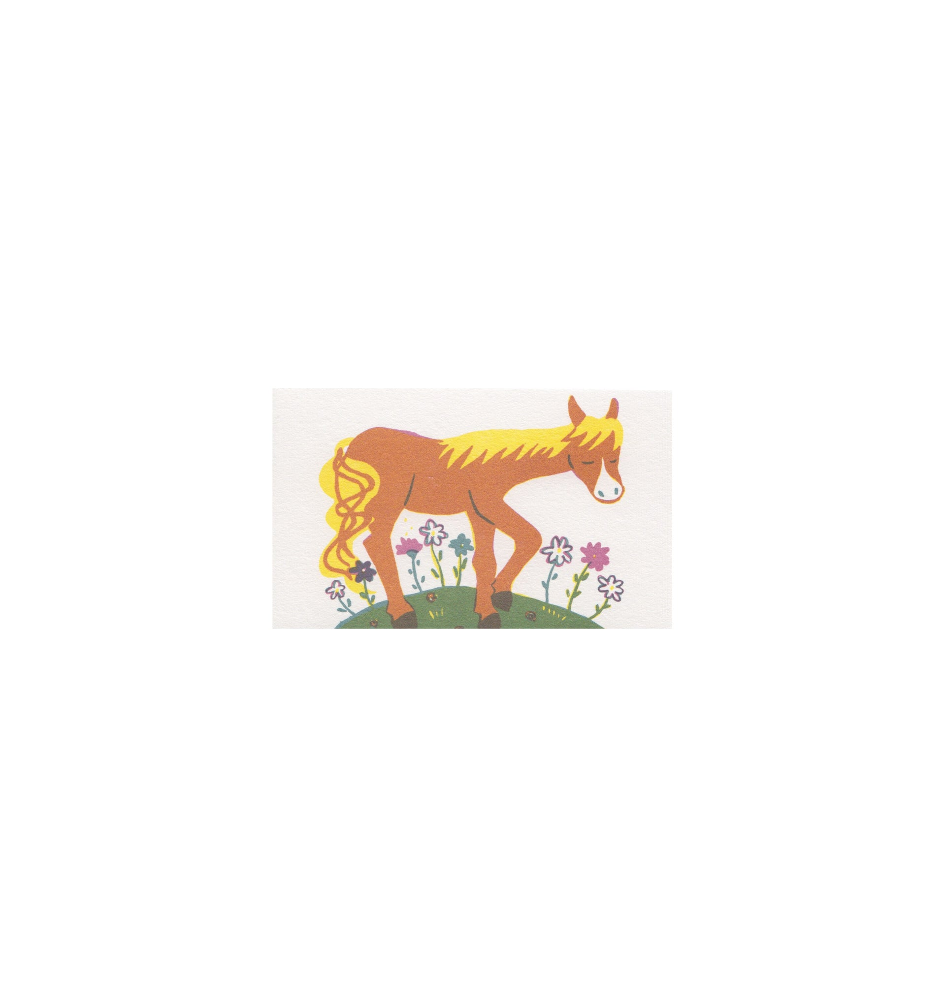 Classiky Small Treasuring Cards: Horse