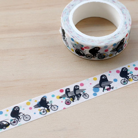 Cycling Sloths Tape