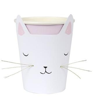 Meri Meri Cat with Whiskers Cups