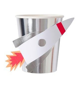 Meri Meri Space Rocket Party Cups