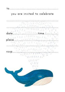 Pulp fill-in Whale Invitations