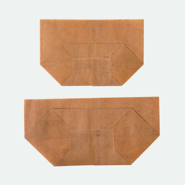 Turtleback (Waxed Paper) Bag: Sml / Med