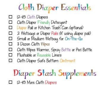 CLOTH DIAPER ESSENTIALS