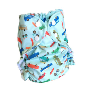 AMP Duo Pocket Diapers (SMALL) FITS 6LBS TO 18LBS NEWBORN BABY