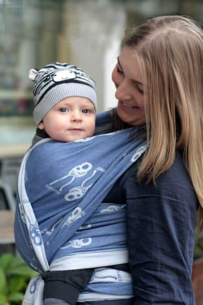 DYDIMOS Mother & Child Nino WRAP Baby Carrier (Gently Used category)