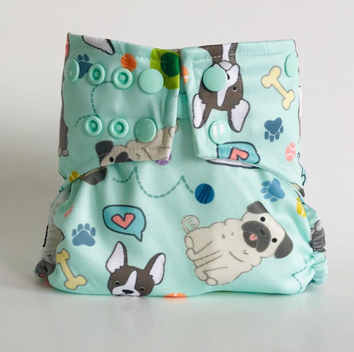 2019 PETS COLLECTIONS GLOWBUG DIAPERS : COVERS ONLY