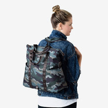 Load image into Gallery viewer, Twelvelittle Unisex Courage 3-IN-1 Foldover Tote