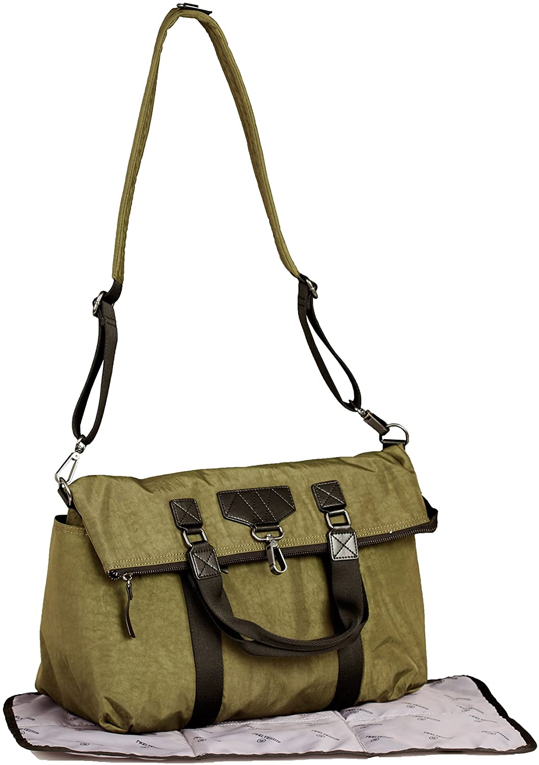 Twelvelittle Unisex Courage 3-IN-1 Foldover Tote