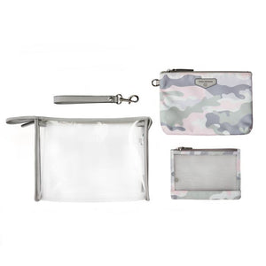 On-The-Go 3-In-1 Diaper Pouch In Blush CAMO