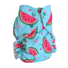 Load image into Gallery viewer, AMP ONE SIZE COVER/POCKET DIAPER (PRINTS)