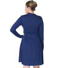 Load image into Gallery viewer, MOMZELLE MATERNITY/NURSING WEAR : ABIGAIL-Deep Blue Sea (On Sale)