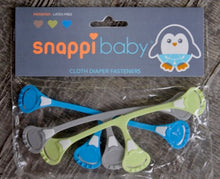 Load image into Gallery viewer, SNAPPI DIAPER FASTENER ( 3 PACK) ONE SIZE
