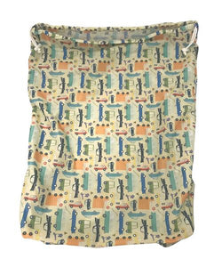 APPLECHEEKS DRAWSTRING STORAGE SAC: SIZE 2