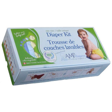 Load image into Gallery viewer, AMP One Size Diaper Kit- HEMP