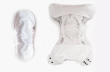 Load image into Gallery viewer, EASY PEASIES (AIO) BAMBOO OVERNIGHT DIAPER