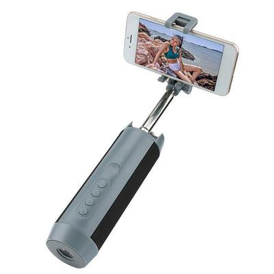 5 in 1 Selfie Stick Bluetooth Speaker