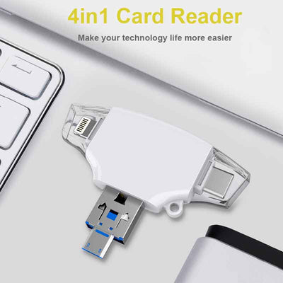 6 in 1 Card Reader