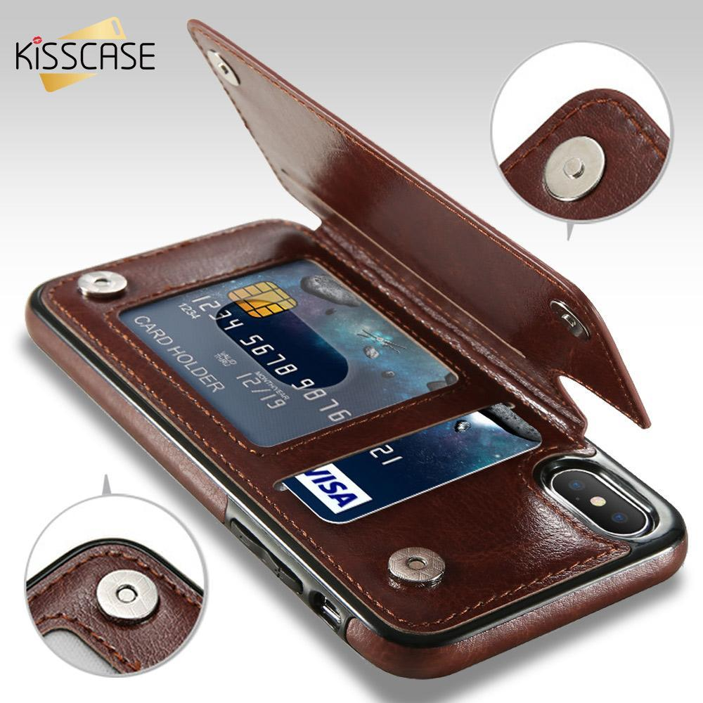 4 in 1 Premium Leather Wallet Case