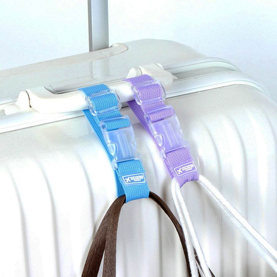Luggage Hanging Strap 4-Pack