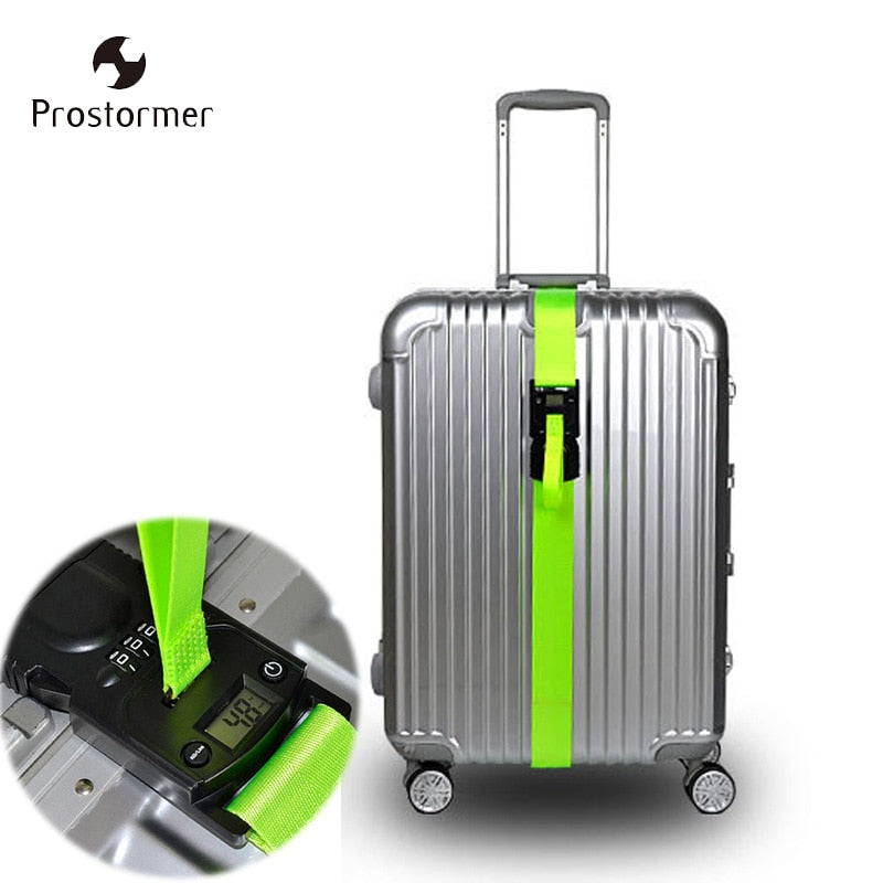 3 in 1 Luggage Strap With Digital Scale & Lock
