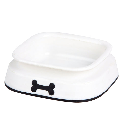 Pawise 11045 Plastic Dog Bowl Medium 550ml 18x18x5.5cm - All Goodies for Your Pet