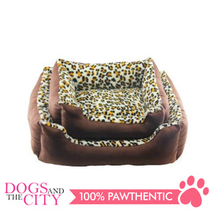 Pawise 12366 Deluxe Square Dog Bed Small 48x38x17.5cm