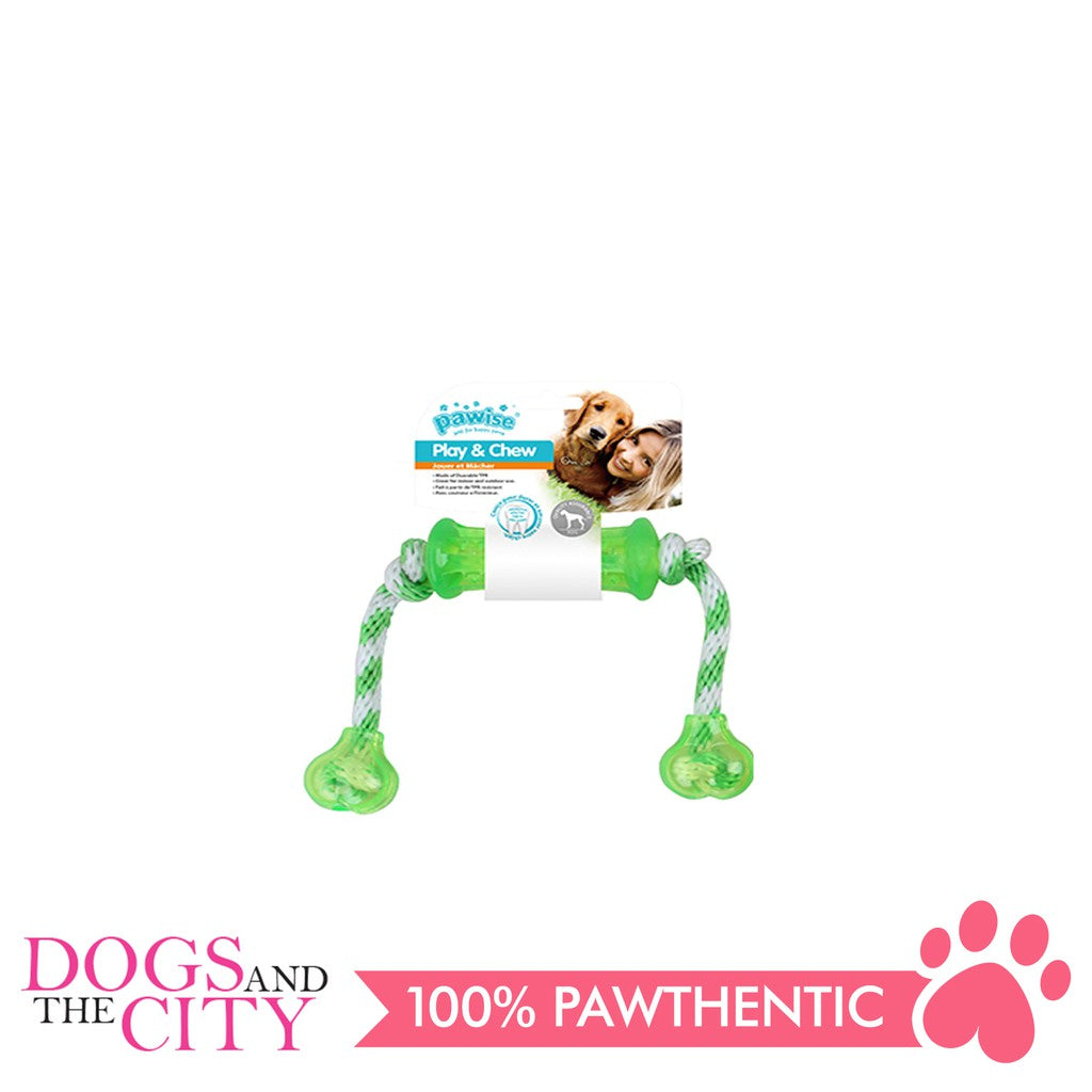 Pawise 14559 Dog Toy Play n Chew Dumbbell