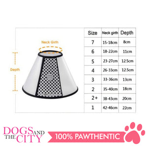BM Elizabeth Collar Size 1 - All Goodies for Your Pet