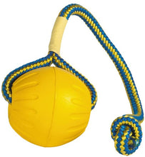Load image into Gallery viewer, SLP FT002 Swing 'n Fling DuraFoam Ball Rope Dog Toy 6cm