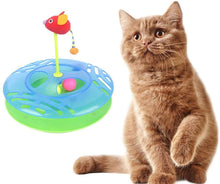 Load image into Gallery viewer, DGZ Single Layer Cat Turntable Play Disc Cat Funny Toy 30cm