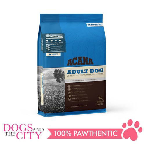 Acana Adult Dog Chicken and Greens 11.4kg - All Goodies for Your Pet