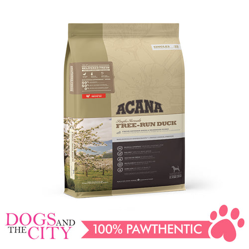 Acana Free-Run Duck Dog Food 11.4kg - All Goodies for Your Pet