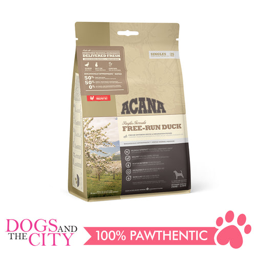 Acana Free-Run Duck Dog Food 2kg - All Goodies for Your Pet