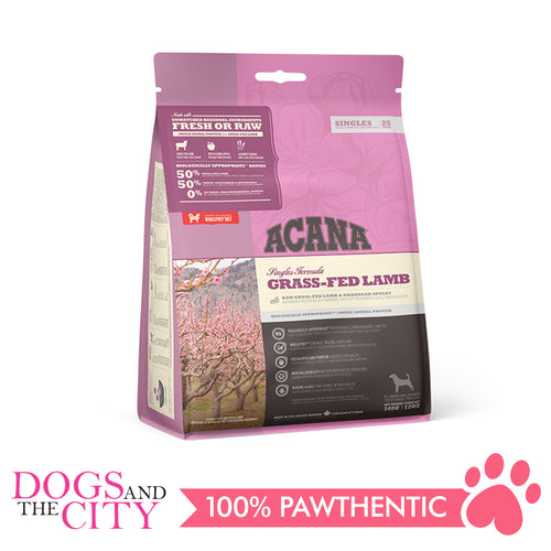 Acana Grass Fed Lamb Dog Food 2kg - All Goodies for Your Pet