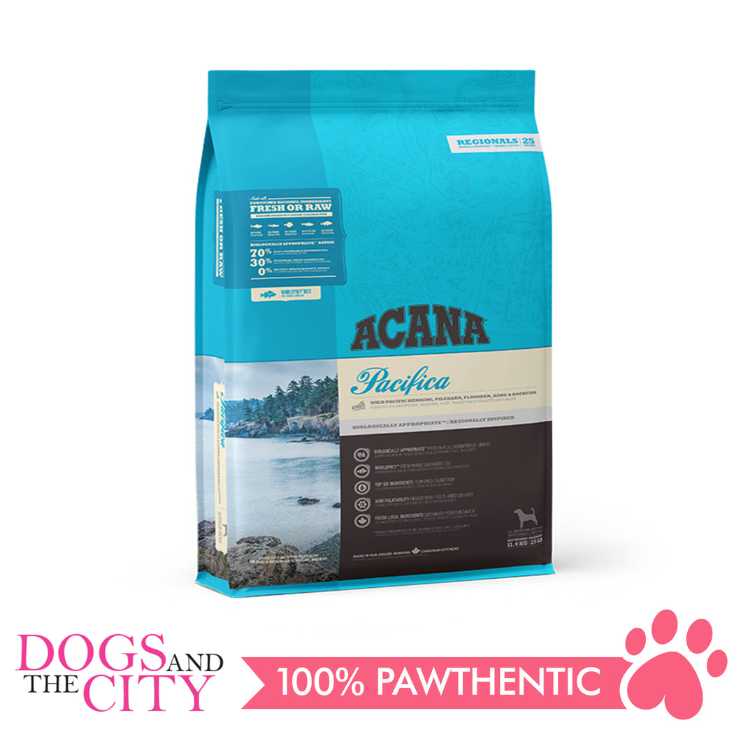 Acana Pacifica Dog 11.4kg - All Goodies for Your Pet
