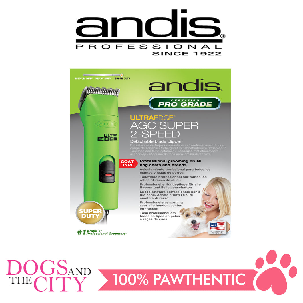 ANDIS AGC2 UltraEdge® 2-Speed Detachable Blade Clipper - All Goodies for Your Pet