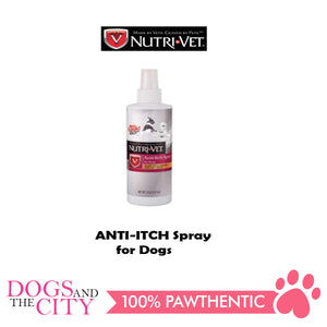 Nutrivet Anti Itch Spray for Dogs 8oz - All Goodies for Your Pet