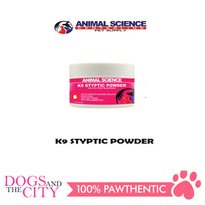 Animal Science K9 Styptic Powder 14 grams - All Goodies for Your Pet