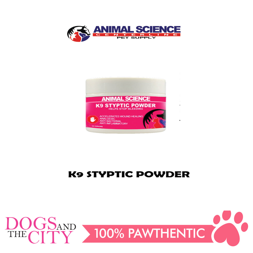 Animal Science K9 Styptic Powder 14 grams - Dogs And The City Online