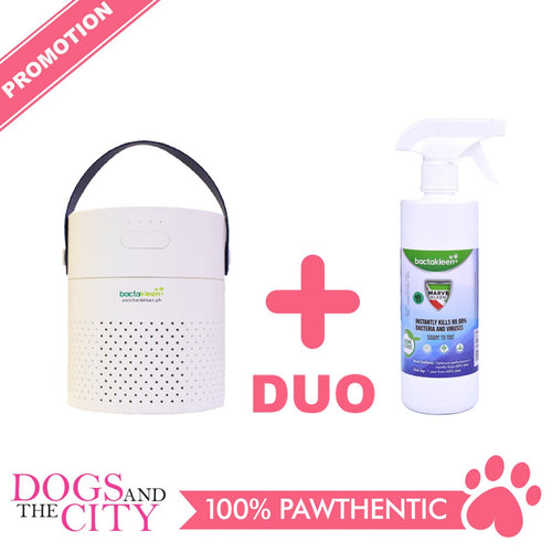 BACTAKLEEN Duo Humidifier with Marvekleen 500ml Bundle