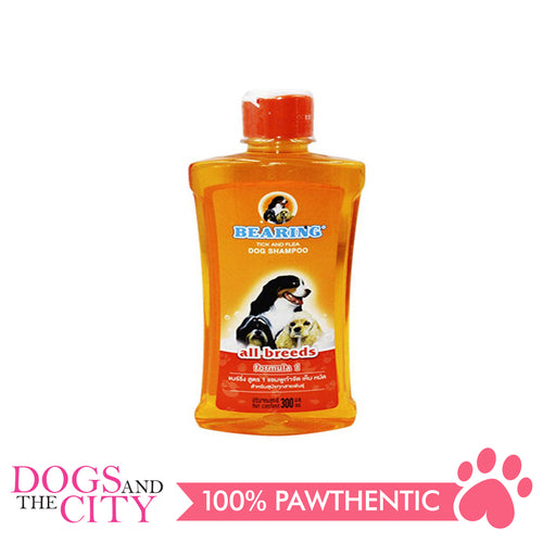 Bearing Tick & Flea Dog Shampoo All Breeds 300ml - All Goodies for Your Pet