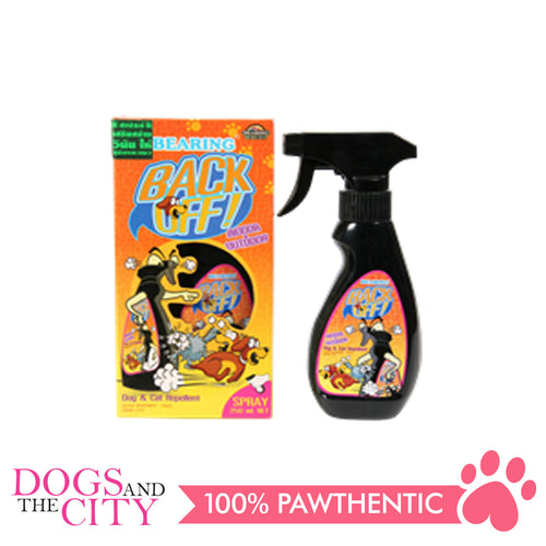 Bearing BACK OFF! Indoor and Outdoor Spray for Dogs and Cats 250ml - All Goodies for Your Pet