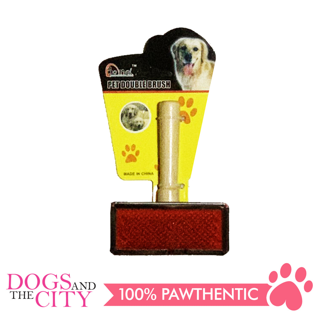 BM Wood Grooming Slicker Brush for Dog Medium 8x4cm - All Goodies for Your Pet
