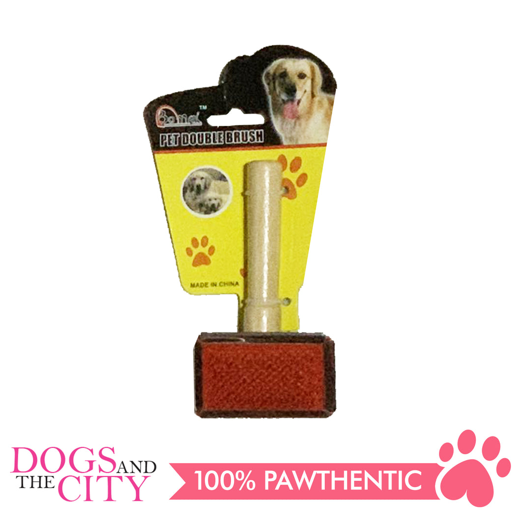 BM Wood Grooming Slicker Brush for Dog Small 6x4cm - All Goodies for Your Pet