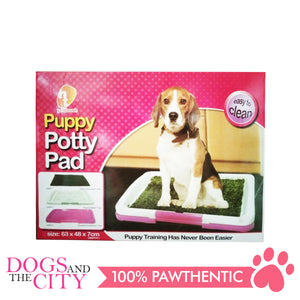 BM Puppy Potty Pad with Grass Large 63x48cm - All Goodies for Your Pet