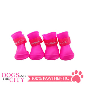 BM Dog Water Proof Rain boots Medium 5x4cm - All Goodies for Your Pet