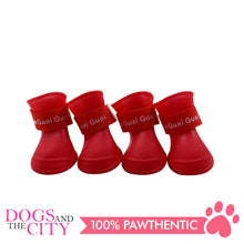 Load image into Gallery viewer, BM Dog Water Proof Rain boots Large 6x4.7cm - All Goodies for Your Pet